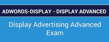 Adwords-Display Questions VCE